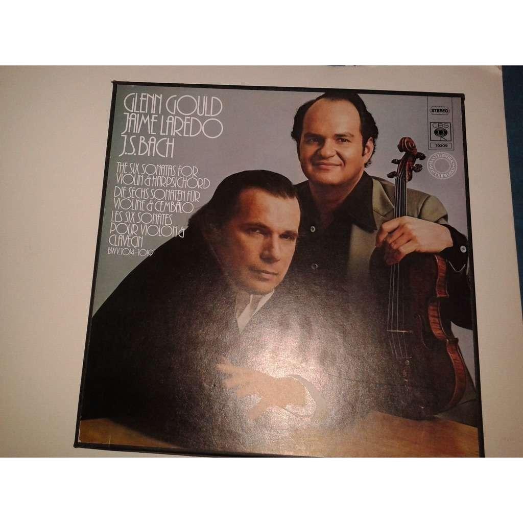 Bach / Jaime Laredo / Glenn Gould Six Sonatas For Violin And Harpsichord