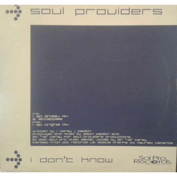 Soul Providers I Don't Know