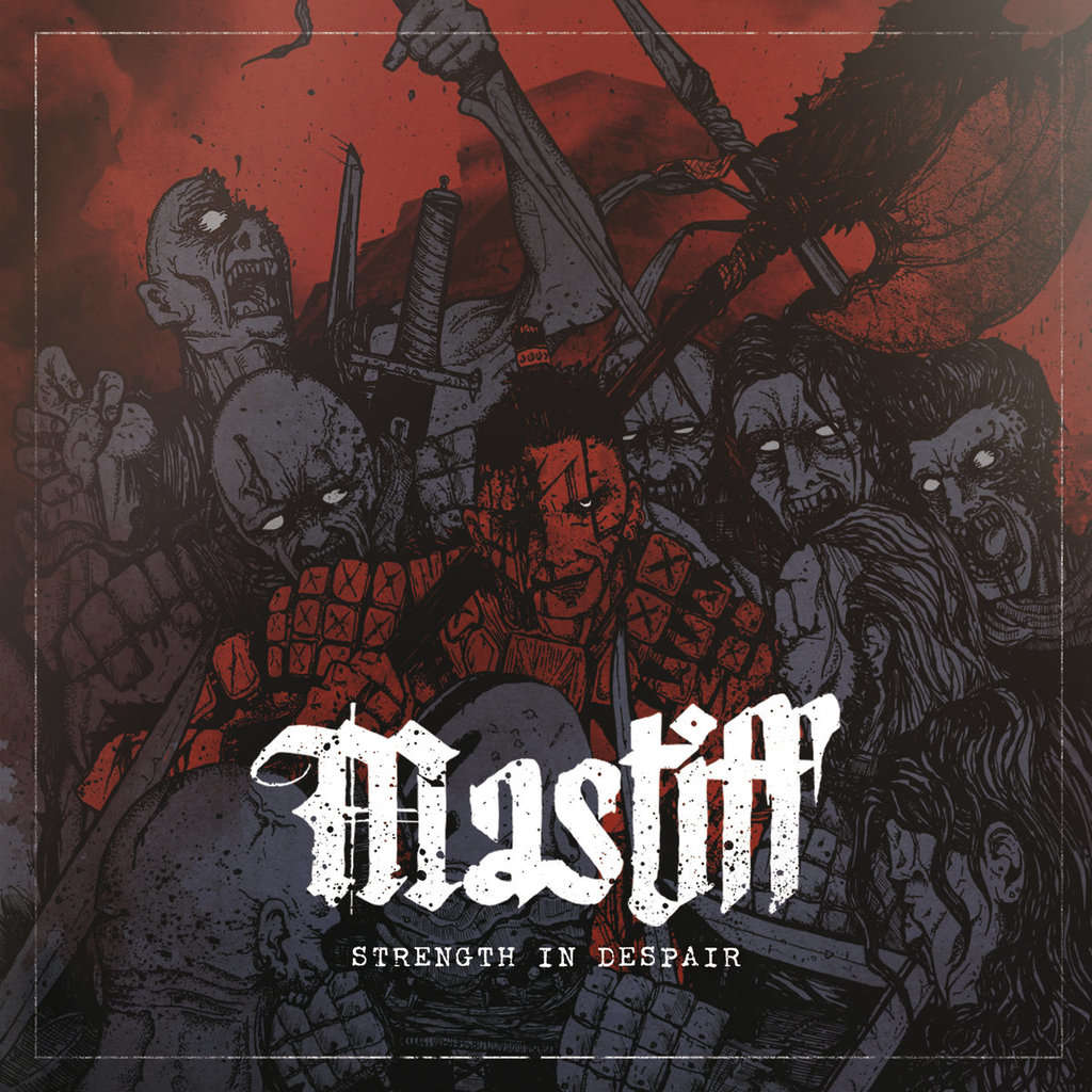 KNIVES OUT RECORDS : Mastiff Strength In Despair - CD
