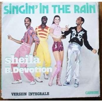 sheila & b devotion singin' in the rain