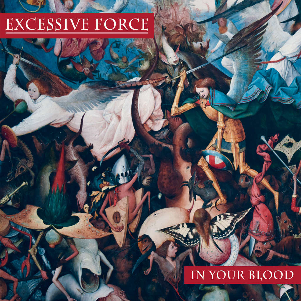 KNIVES OUT RECORDS : Excessive Force In Your Blood - CD