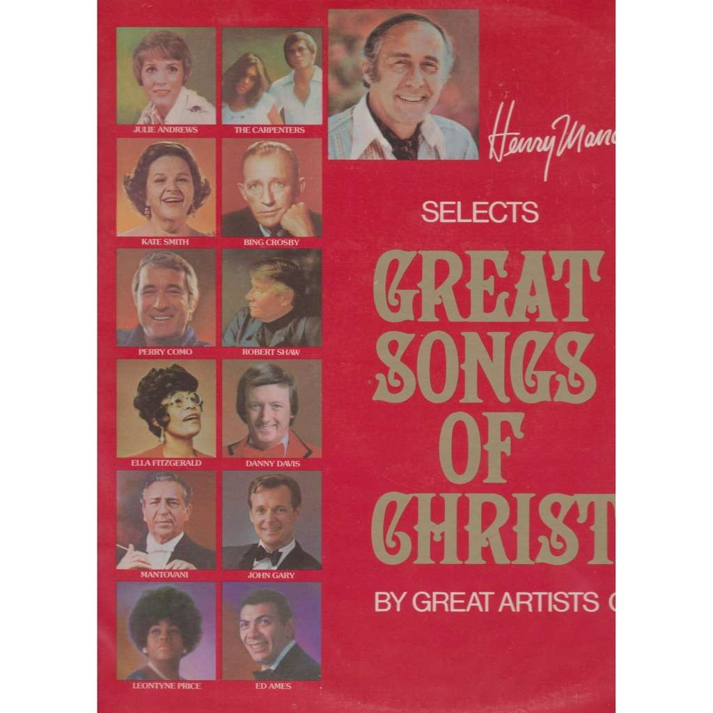 Henry mancini selects great songs of christmas by Ella Fitzgerald ...