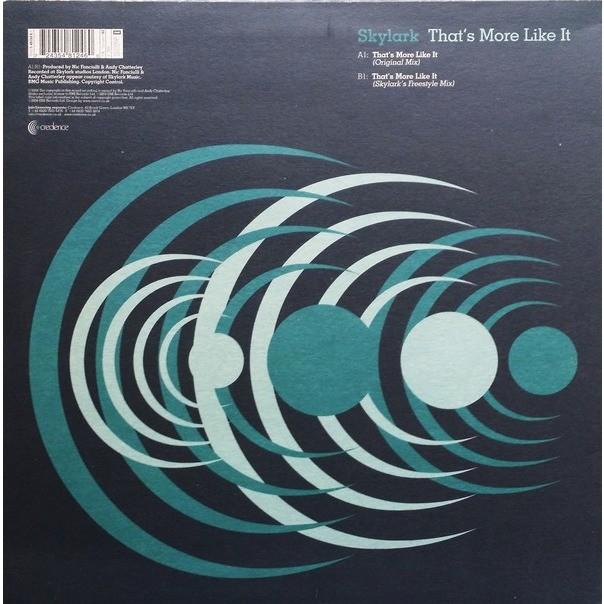 Skylark That's More Like It (Disc 1)