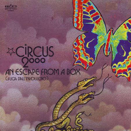 Circus 2000 An Escape from A Box (Fuga Dall'Involucro)
