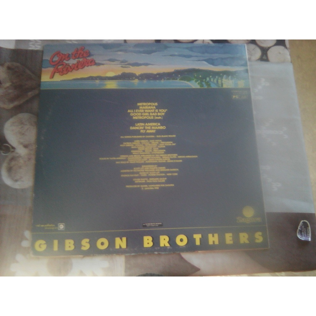 Gibson Brothers - On The Riviera Gibson Brothers - On The Riviera