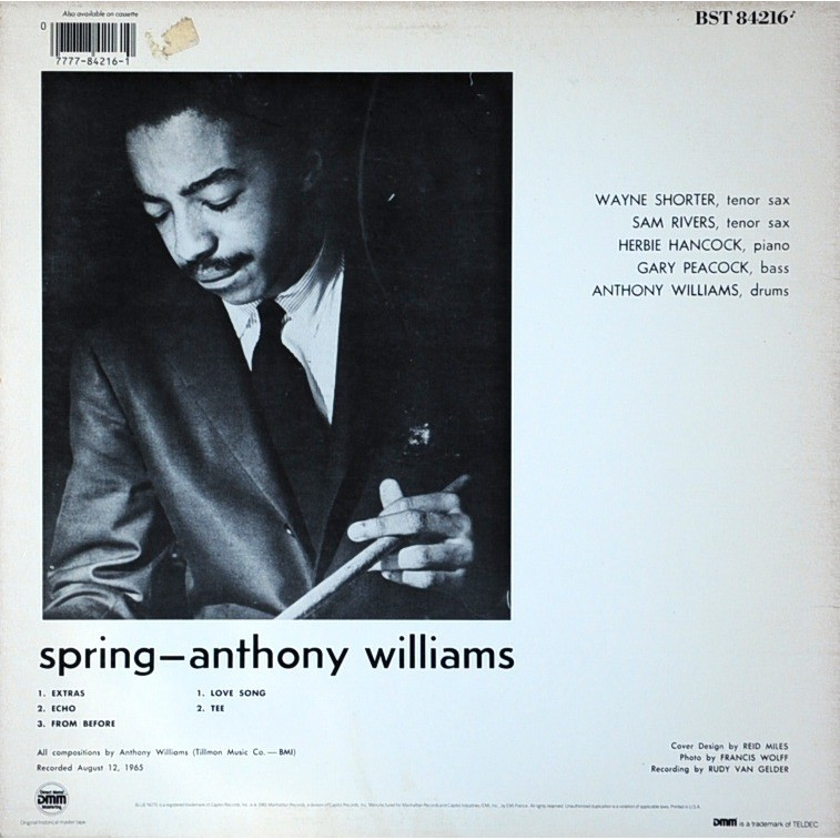 anthony williams Spring