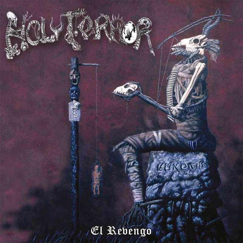 HOLY TERROR El Revengo. Splatter Vinyl