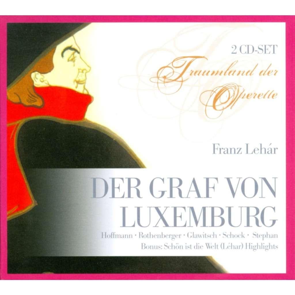 Lehár, Franz Der Graf von Luxemburg / Stephan