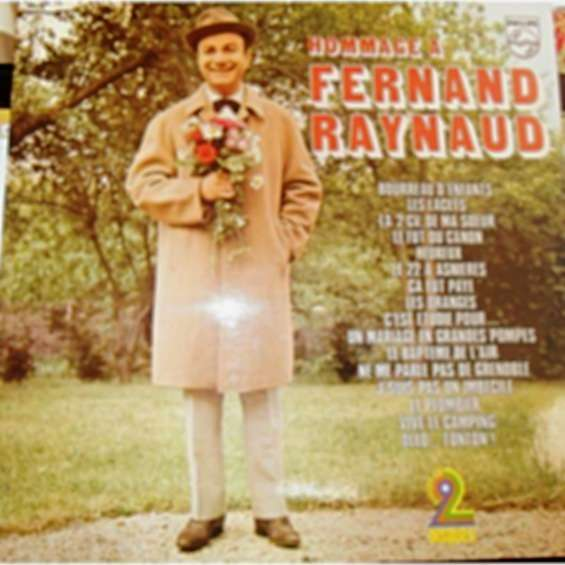 FERNAND RAYNAUD BOURREAU D'ENFANTS / 2 DISQUES6680 266 /