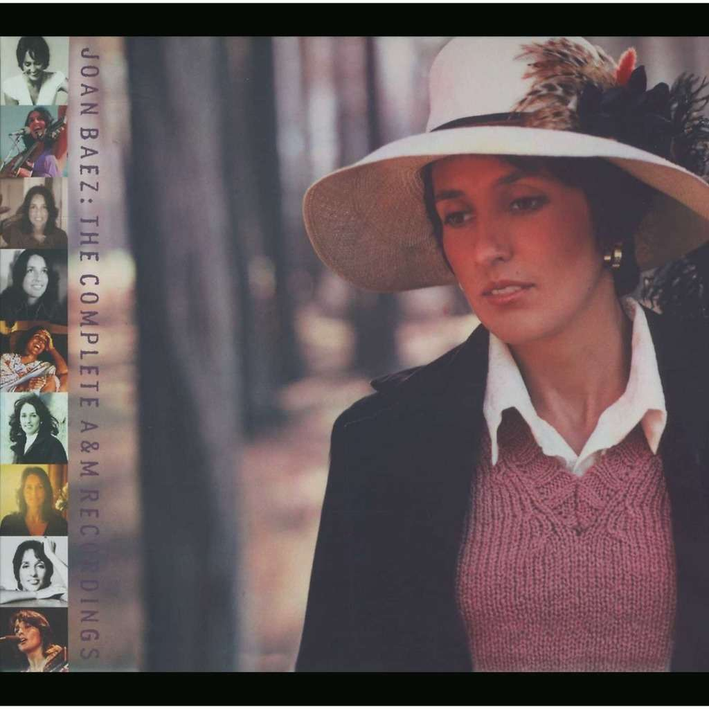 joan baez The Complete A&M Recordings