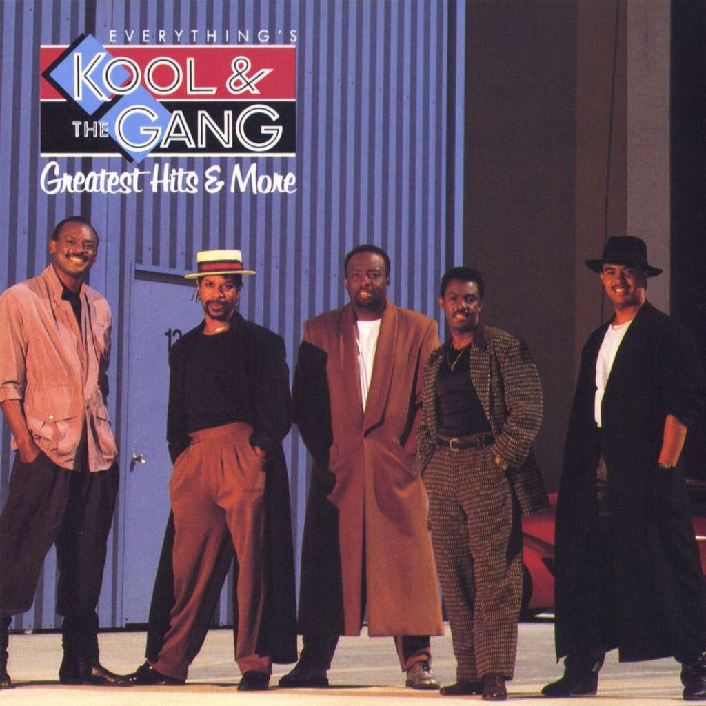 KOOL & THE GANG everything's kool & the gang - greatest hits & more