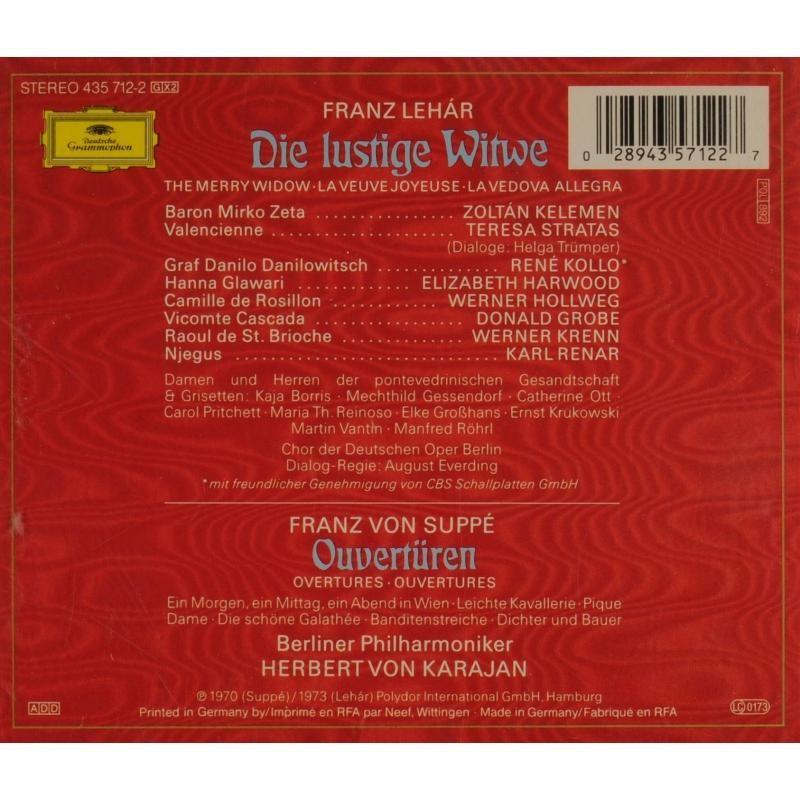 Lehár, Franz Die Lustige Witwe / Karajan