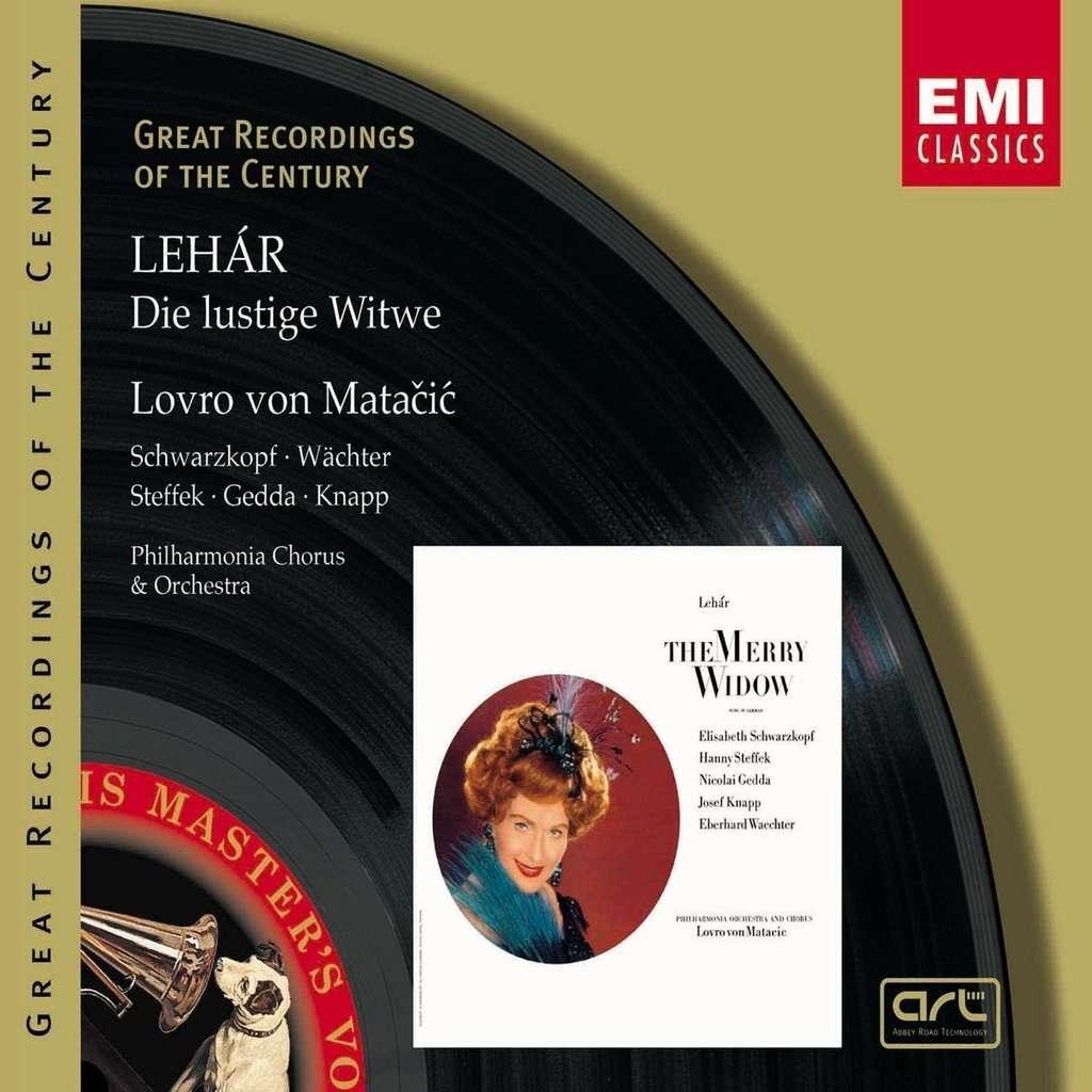 Lehár, Franz Die Lustige Witwe / Matacic