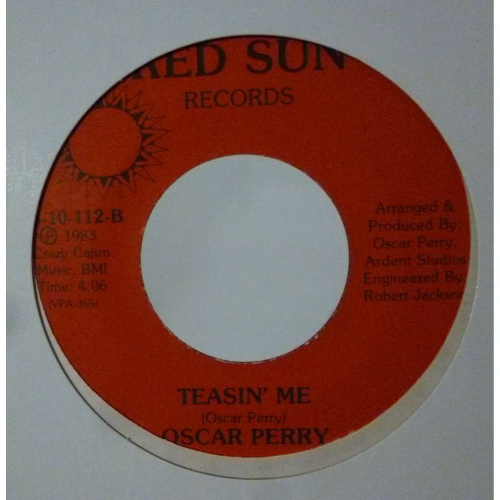 oscar perry I Wanna Thank You / Teasin' Me