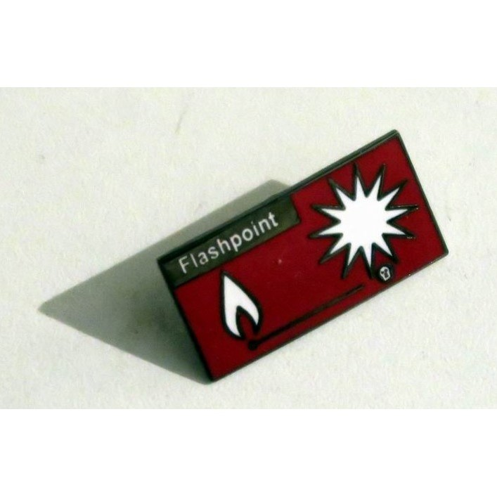 the rolling stones Metal Enamel Pin's Pins Flashpoint 1991