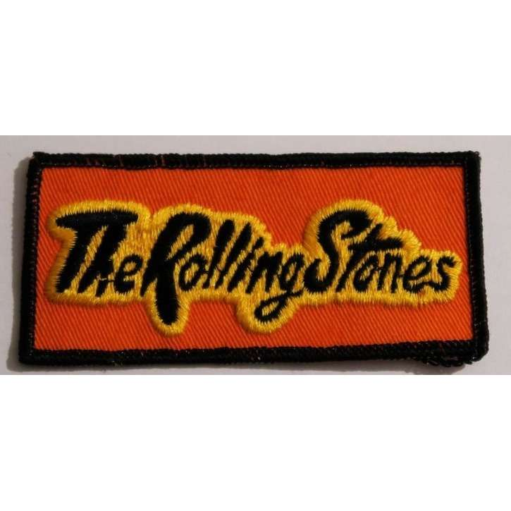 the rolling stones Patch tissu à coudre THE ROLLING STONES sew on patch