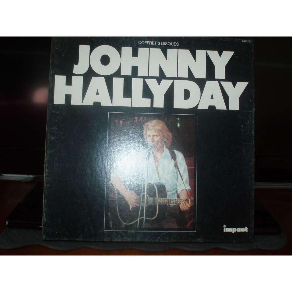 JOHNNY HALLYDAY AMOUR D'ETE ( COFFRET 3 DISQUES )