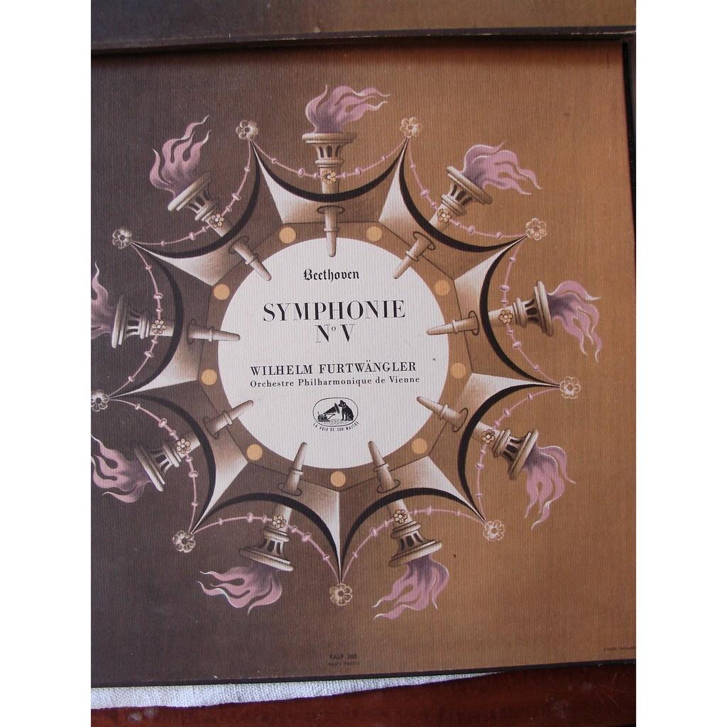 W. Furtwangler : Orch . Philharm. de Vienne beethoven : symphonies no : iii - v - vi et vii