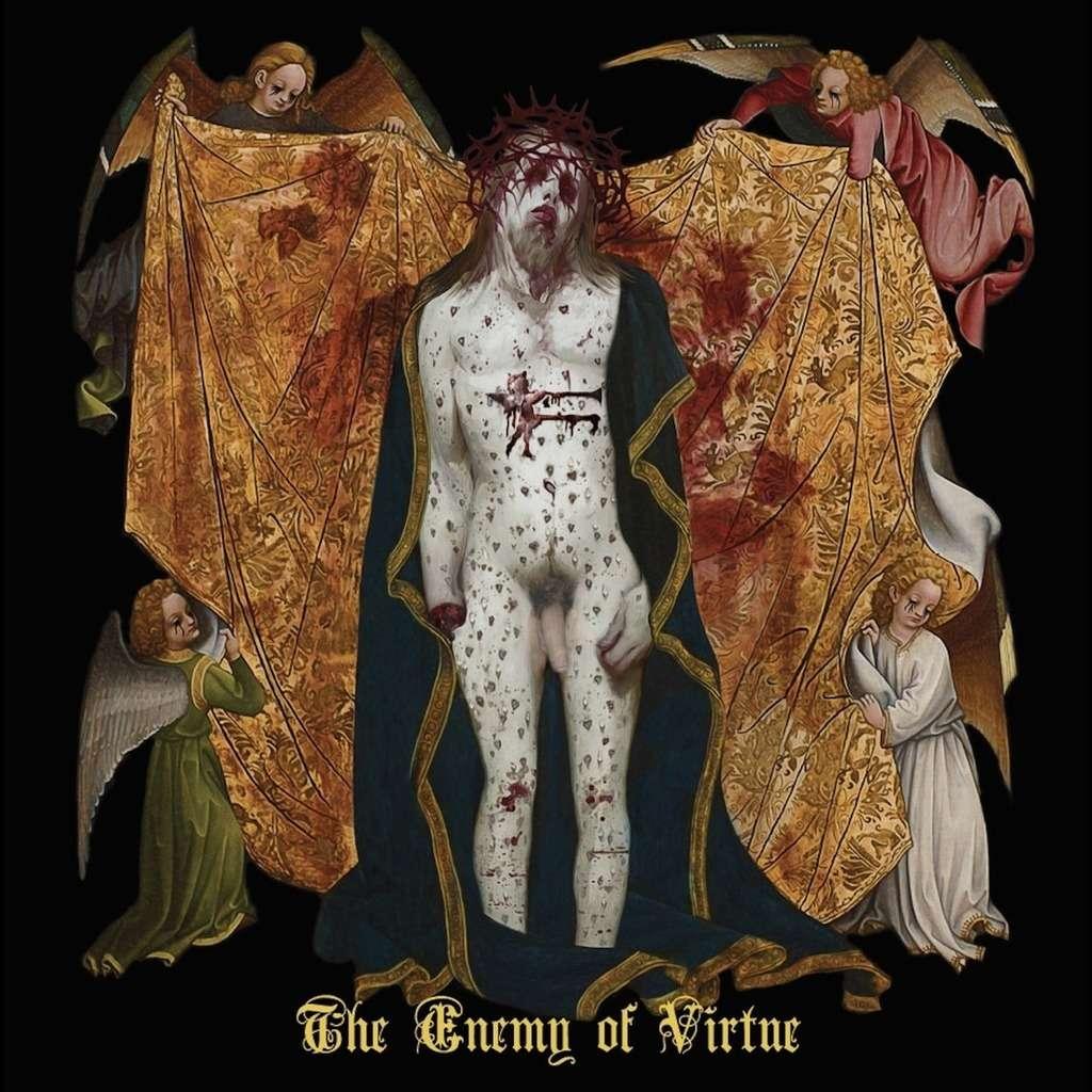 PROFANATICA The Enemy of Virtue. Splatter Vinyl