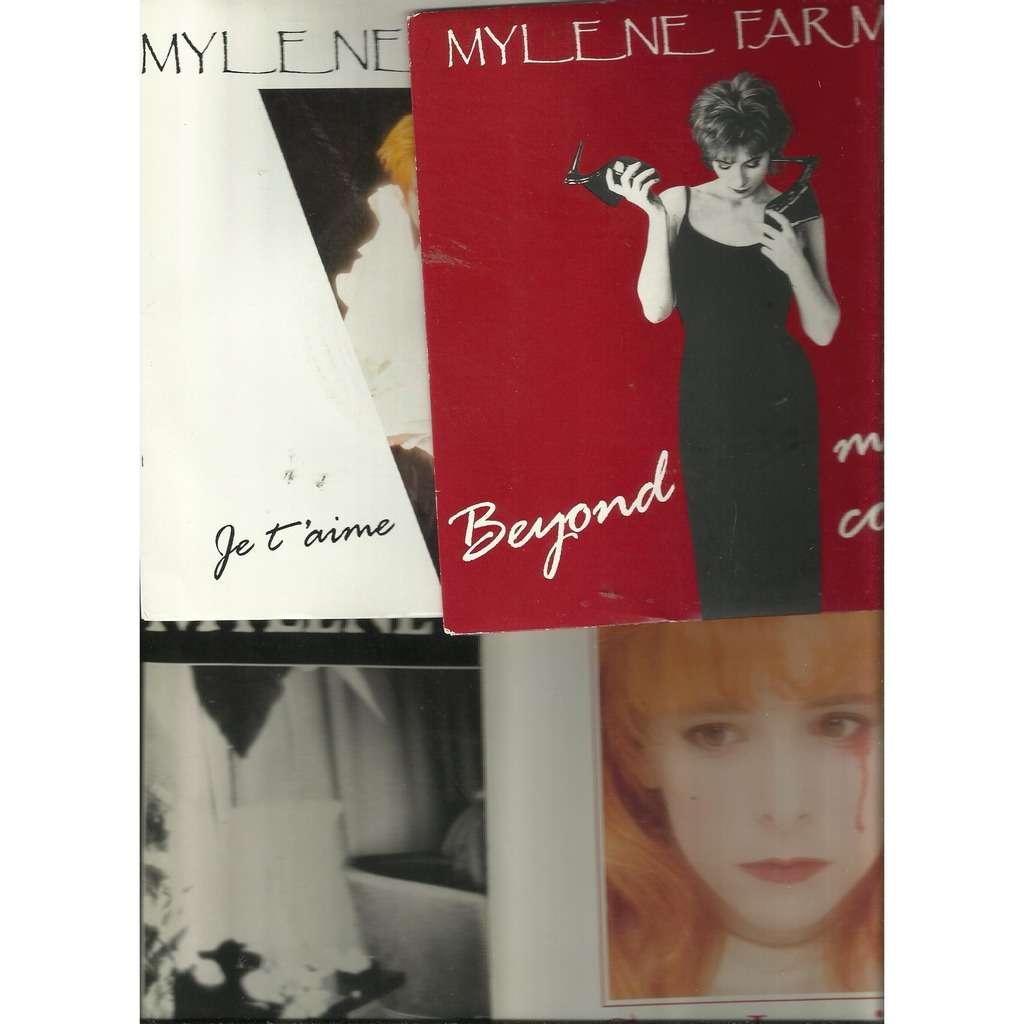 mylène farmer beyond my control + 3 sps