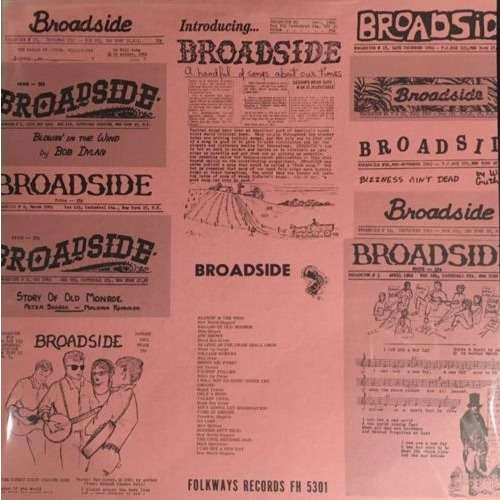 bob dylan Broadside Ballads Vol 1