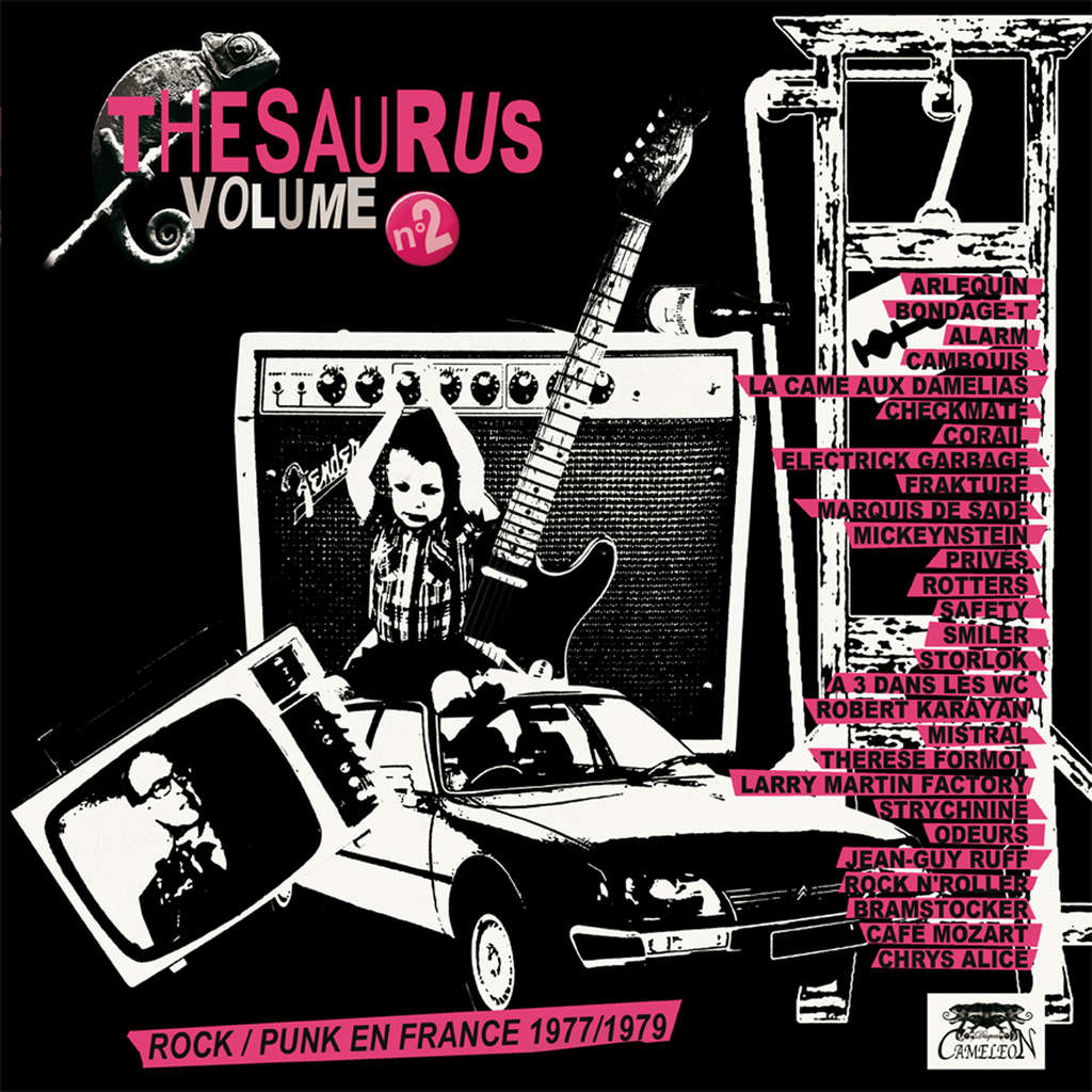CAMELEON : THESAURUS VOLUME 2 ROCK/PUNK EN FRANCE 1977/1979 - 33T x 2