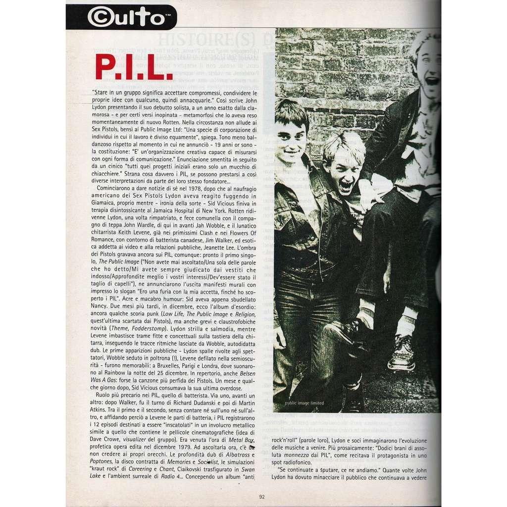 Sex Pistols / P.I.L. Rumore (N.66/67 July/Aug. 1997) (Italian 1997 music magazine!!)