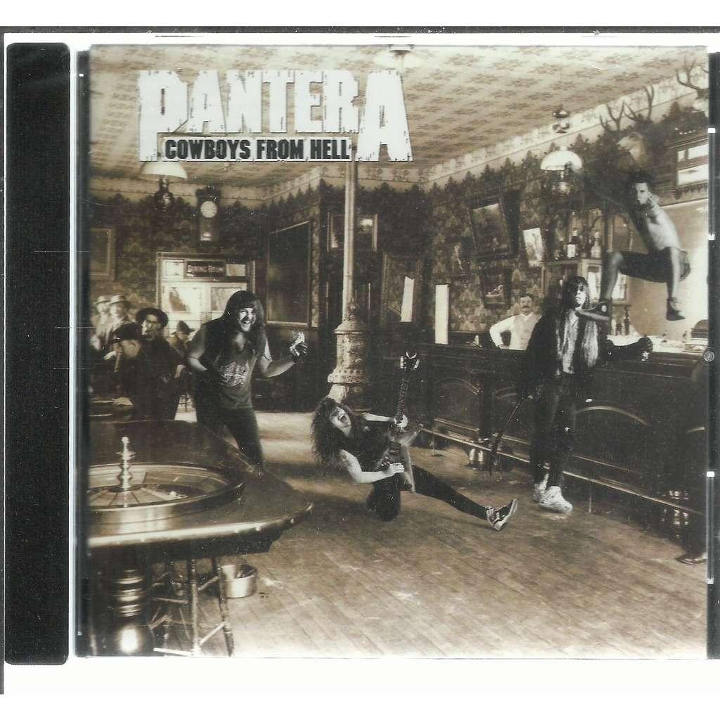 cd do pantera cowboys from hell