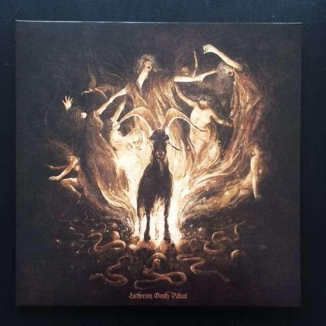 GOATH Luciferian Goath Ritual. Black Vinyl