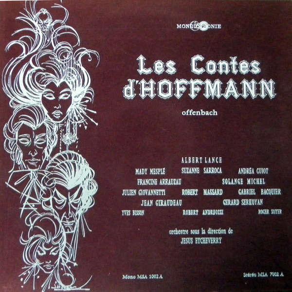 Albert Lance Offenbach Les Contes d'Hoffmann
