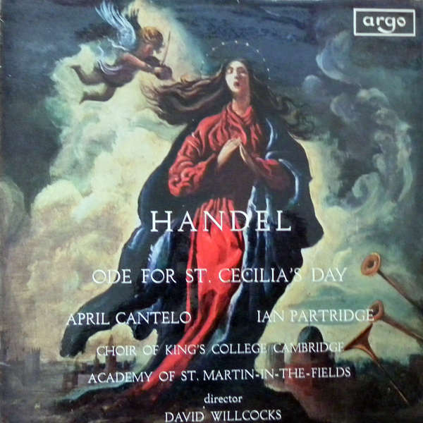 Academy St Martin in the fields Handel Ode for St.Cecilia's day