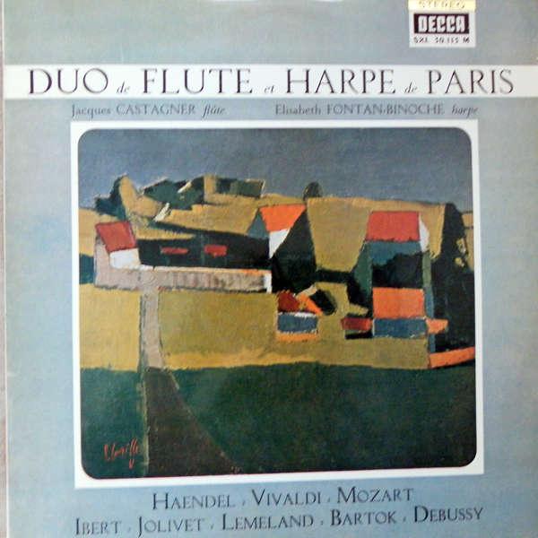 Jacques Castagner & Elisabeth Fontan-Binoche Duo flûte et harpe de Paris
