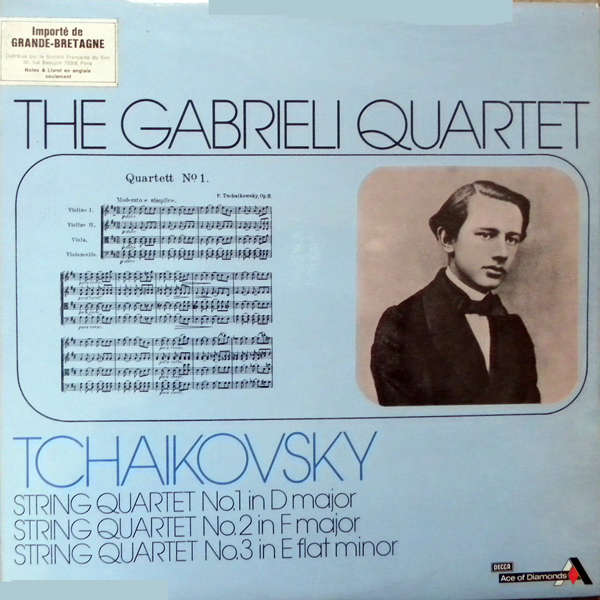 The Gabrieli quartet Tchaikosky