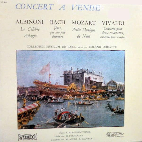 collegium musicum Concert à Venise