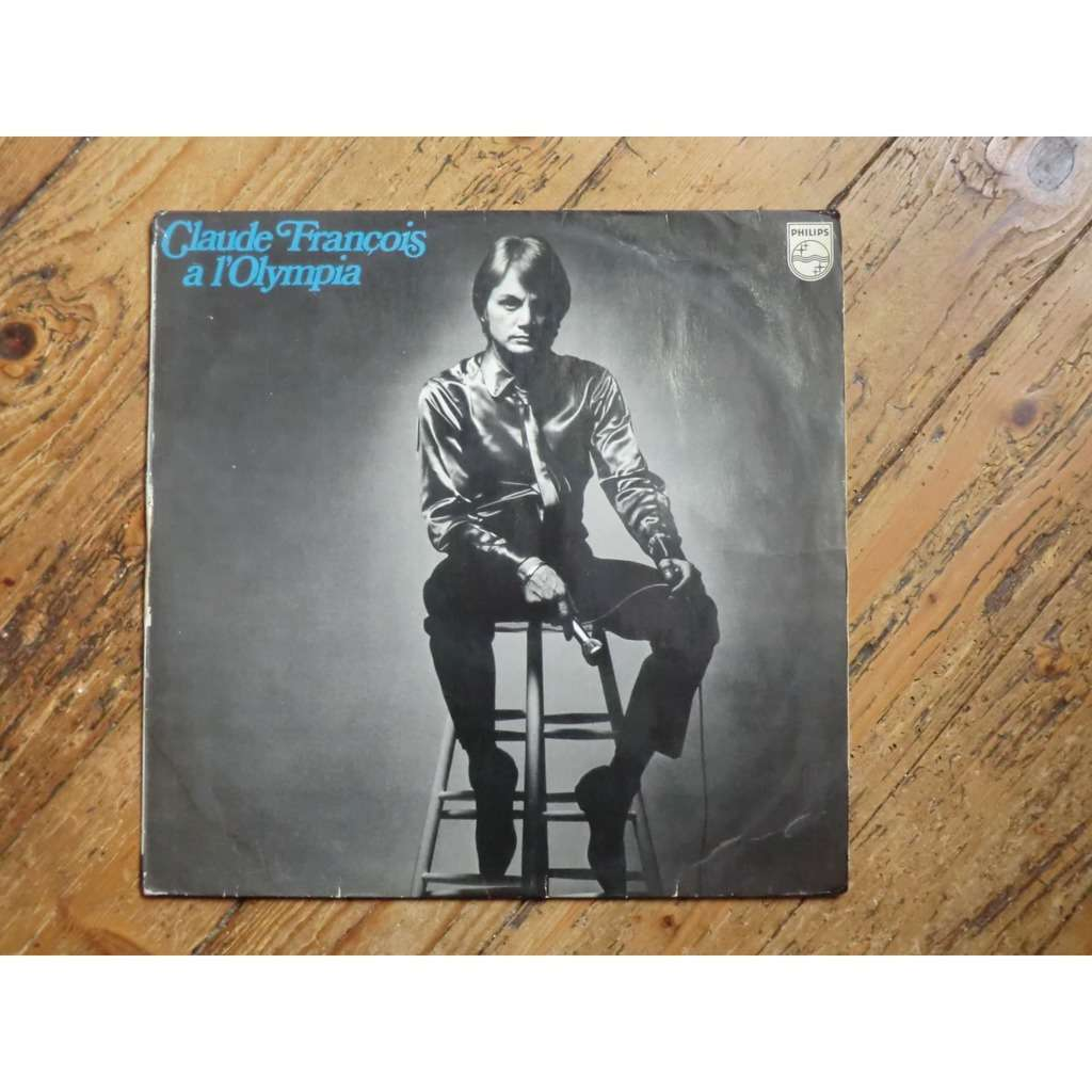 Claude FRANCOIS Claude François à l' Olympia (Rare French press edtion with the titles on back - 1968)