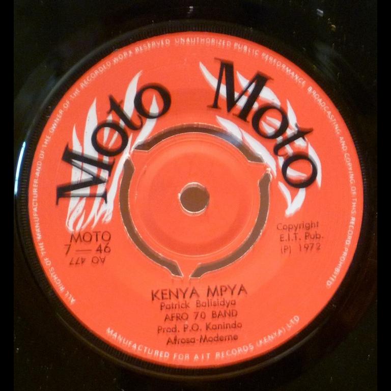 AFRO 70 BAND Kenya mpya / Walimwengu