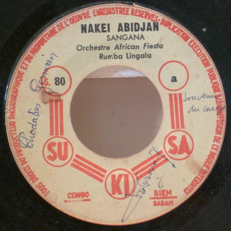 ORCHESTRE AFRICAN FIESTA Nakei Abidjan / Loin du d'sespoir
