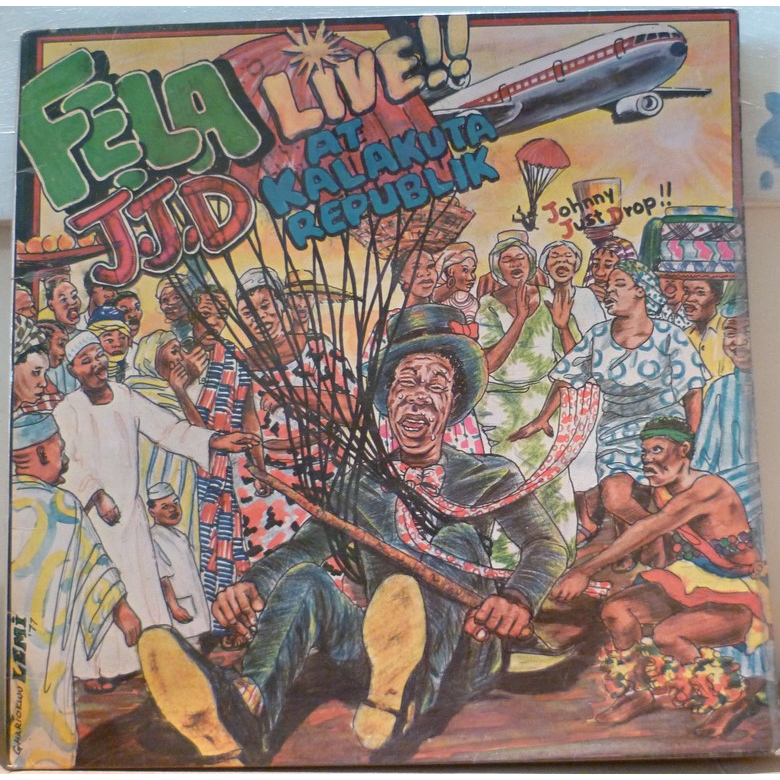 FELA ANIKULAPO KUTI jjd live at kalakuta republic, LP for