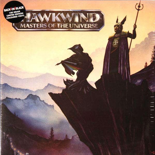 Hawkwind Masters Of The Universe (lp) Ltd Edit Colour Vinyl -U.K