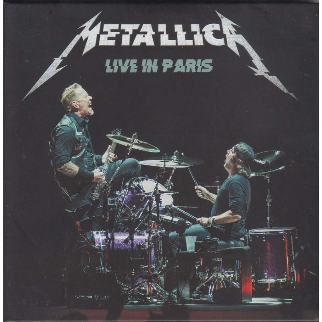 Live in paris 2017 - Metallica - ( CD2枚 ) - 売り手 ...