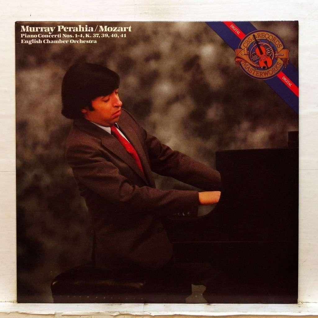 Murray Perahia Mozart : Piano concerti nos. 1-4 K.37, 39, 40 & 41