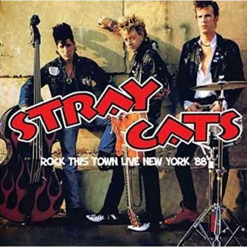 Stray Cats  Rock This Town Live New York '88 (cd)