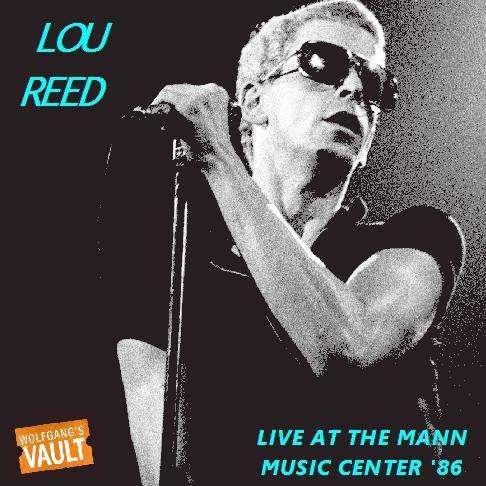 Velvet Underground - LOU REED PHILADELPHIA 1986