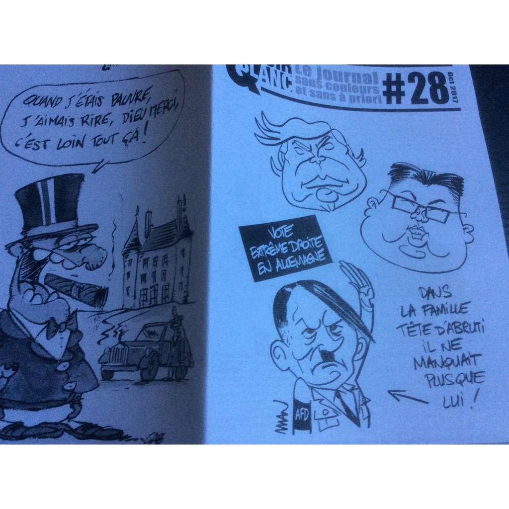 Noir & Blanc Noir & Blanc N° 28 (Le Journal Sans Couleur & Sans À Priori) : vote extrême droite en Allemagne.