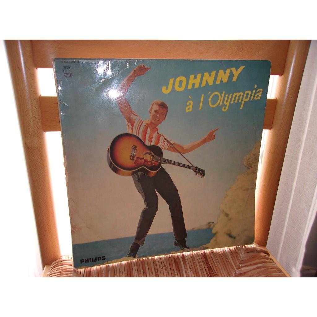 JOHNNY HALLYDAY JOHNNY A L'OLYMPIA