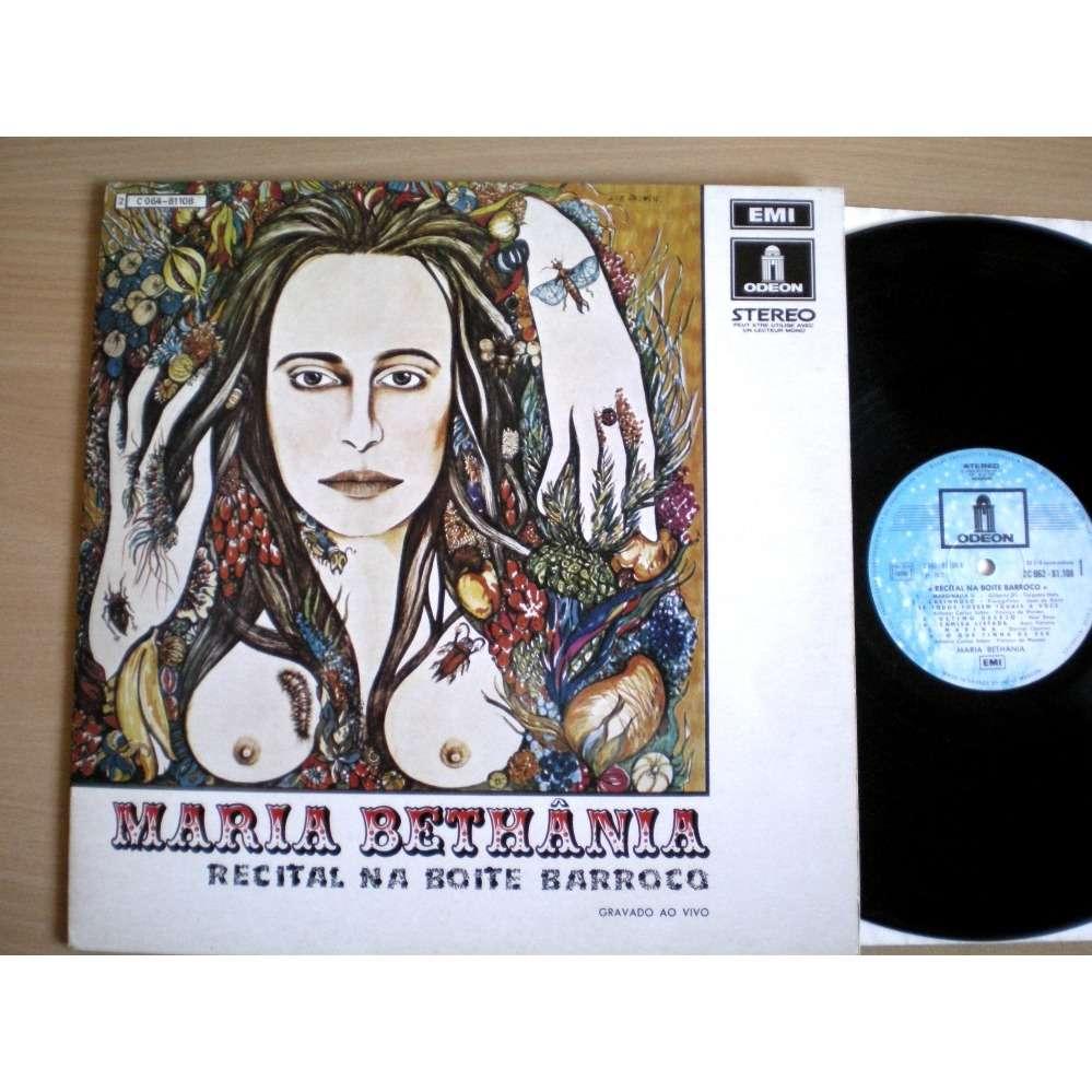 Maria Bethania Recital Na Boite Barroco