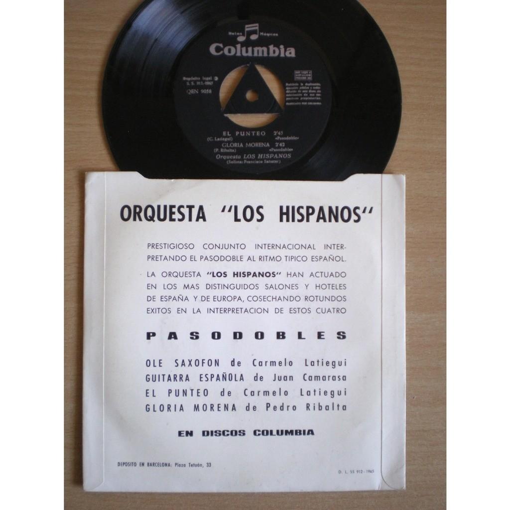 Orquesta Los Hispanos - Francisco Sabater Ole Saxofon +3
