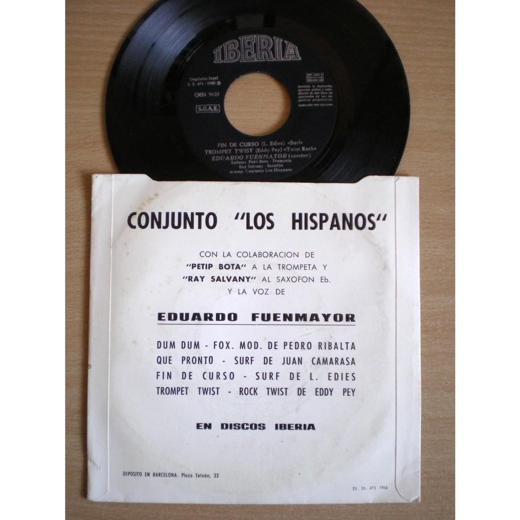 Conjunto Los Hispanos - Eduardo Fuenmayor Ritmos De Hoy - Que Pronto +3
