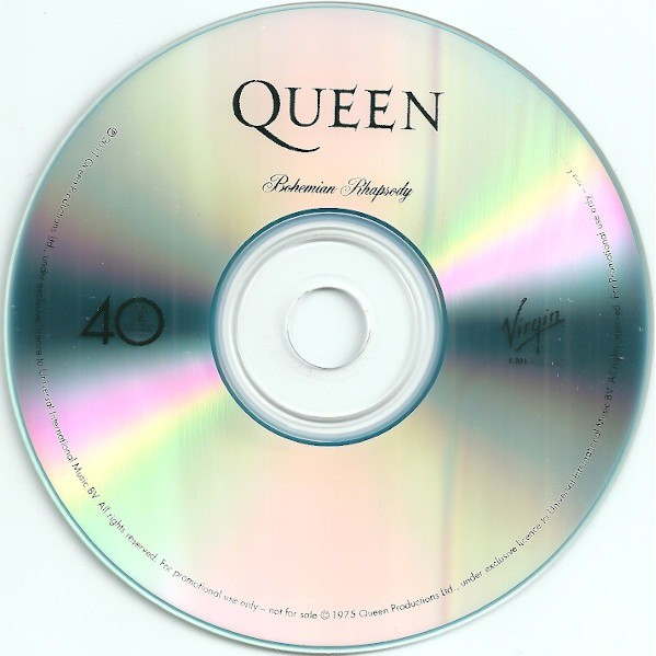Bohemian Rhapsody By Queen Cds With Maicol D4 Ref