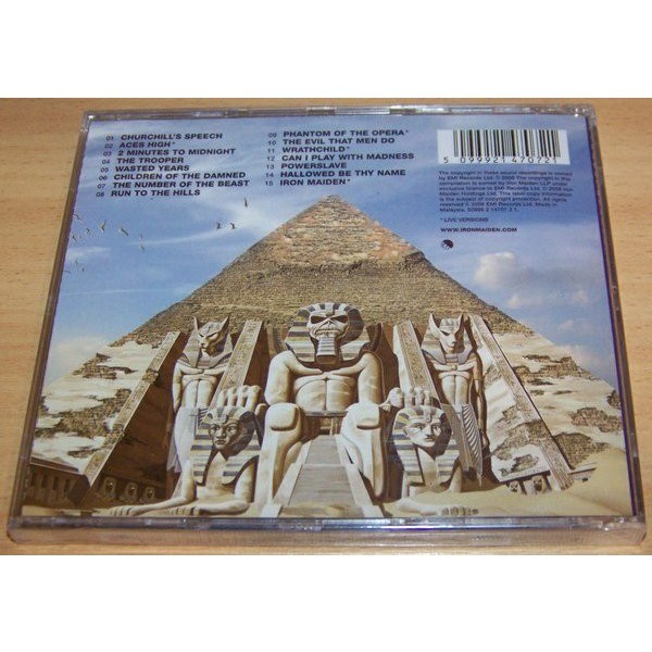 Iron Maiden Somewhere Back In Time - The Best Of: 1980-1989